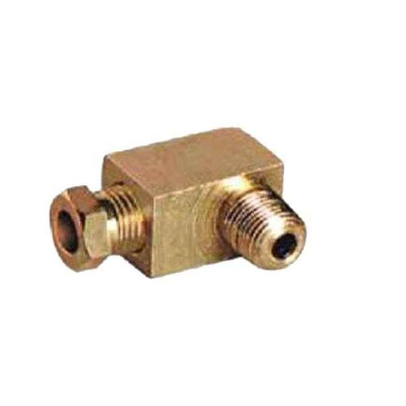 SFI 1/8-6 inch Brass Male Elbow Lubrication Fitting