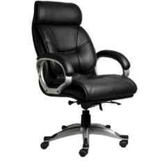 Mezonite High Back Black Leatherette Executive Class Office Chair, KI 207