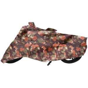 Mobidezire Polyester Jungle Bike Body Cover for Hero Passion Pro TR (Pack of 2)