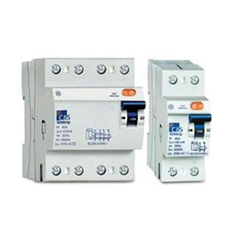C&S 32A 2 Pole 10kA WiNtrip RCCB, CSRB2P32A30-10kA