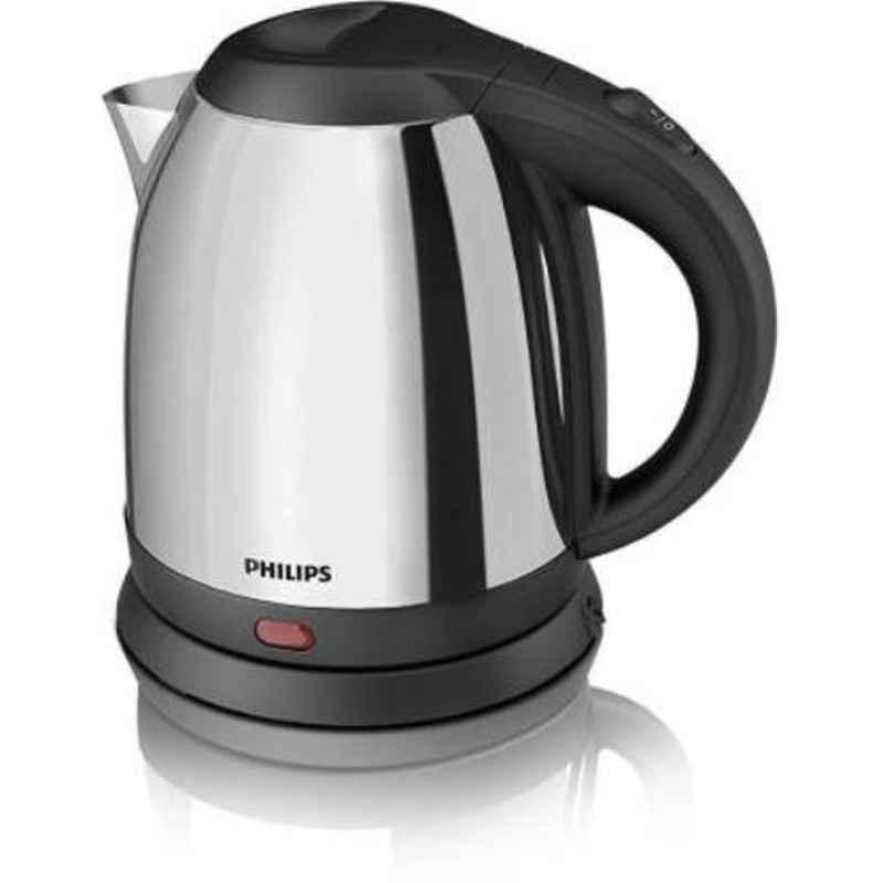 Philips HD9303/02 1.2L 1800W Metallic Silver Electric Kettle
