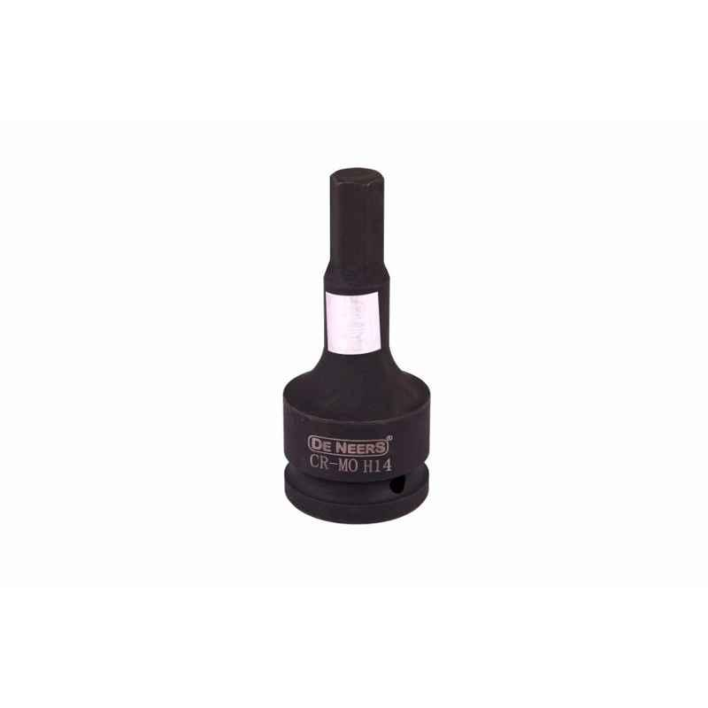 De Neers IMP-C-H32 3/4 inch Square Drive Single Forged Impact Allen Socket, Size: 32 mm