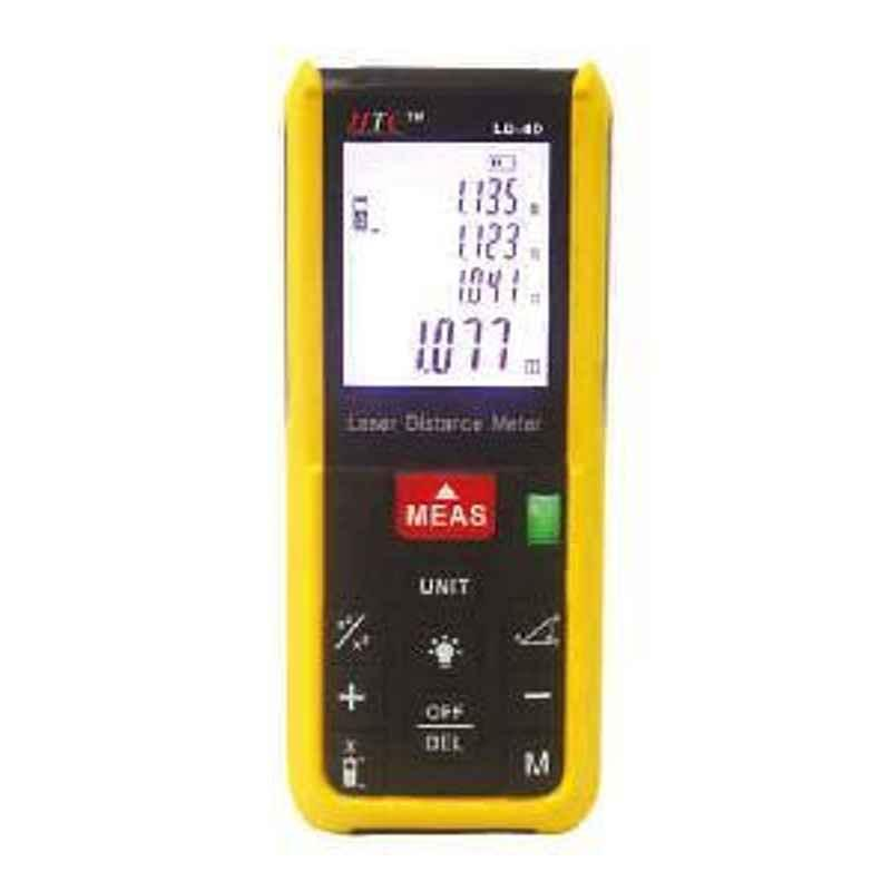 HTC 0.05-40m LCD Display Laser Distance Meter LD-40