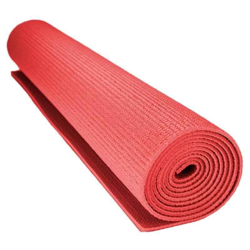 Facto Power 1730x610x6mm Red Antiskid Yoga Mat