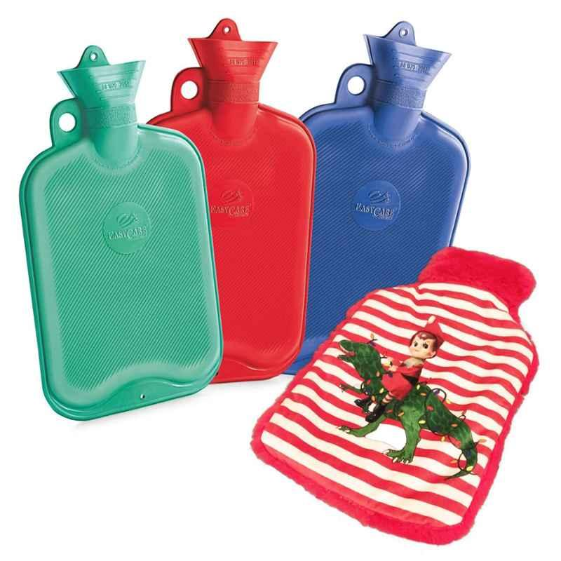 Easycare Super Deluxe Red 2L Hot Water Bag, EC-HB1881RED