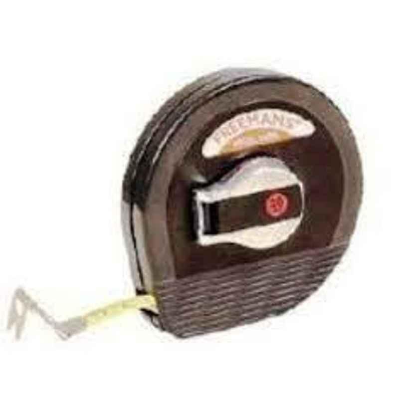 Freemans Steel Abs Case 9.5mm Measuring Tape, Length: 20 m, SA20
