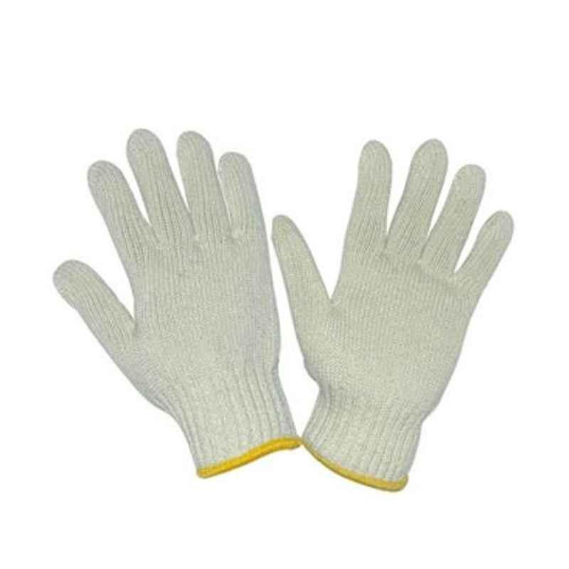 Siddhivinayak 40g Cotton Knitted Hand Gloves (Pack of 50)