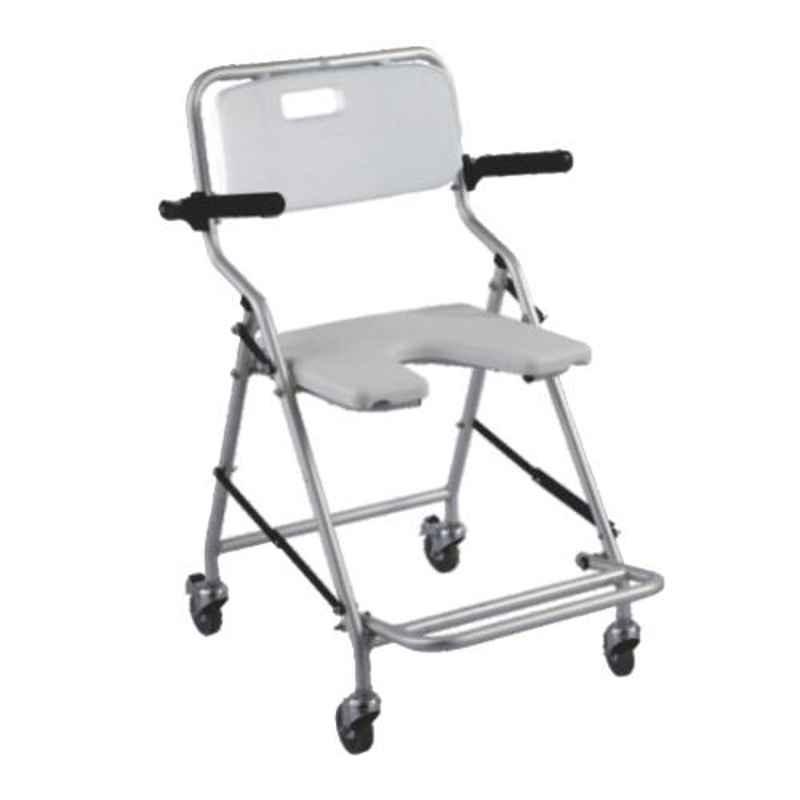 Easycare Folding Commode Portable Bracket Toilet Chair, EC791LA