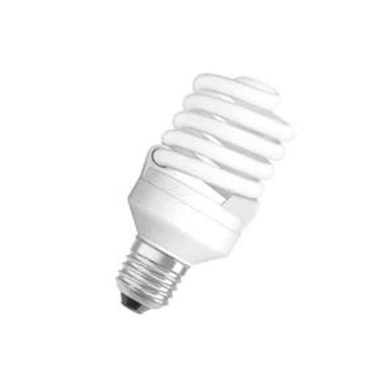 Osram 65W Spiral Warm White E27 CFL Bulb