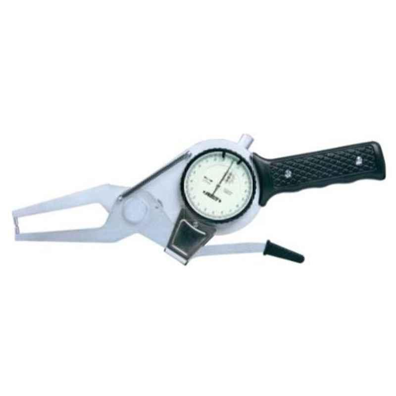 Insize External Dial Caliper Gauge, Jaw Length: 55mm, Range: 80-100 mm, 2332-100