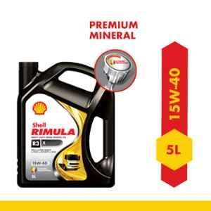 Shell 5L Rimula R3X 15W-40 API CH4 Plus Heavy Duty Diesel Engine Oil