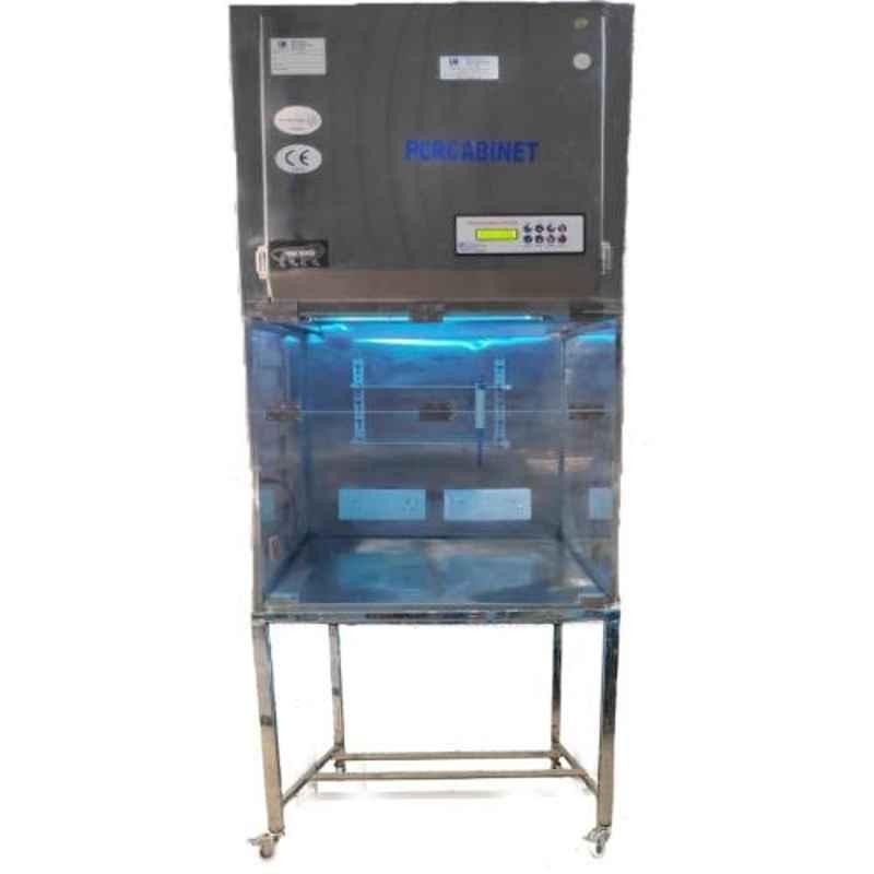UR Biocoction 2x2x2ft Stainless Steel PCR Workstation