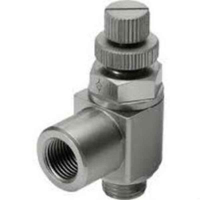 Festo  (Flow rate 2.100 l/min) One-way flow control valve for exhaust air GRLA-1/2-B
