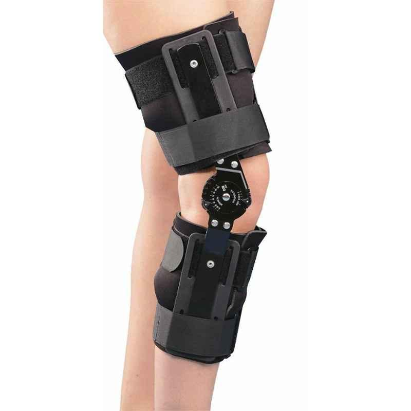 Tynor Adjustable R.O.M. Knee Brace for Multiple Orthopedic Problems, Size: Universal
