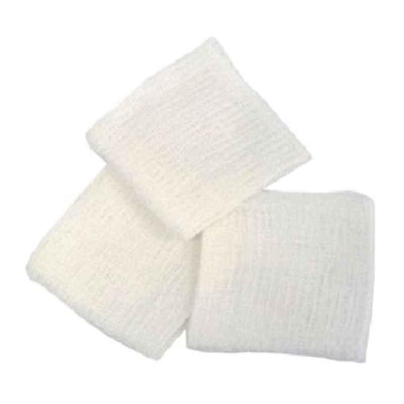 JE 7.5cmx7.5cm Pure Cotton Gauze Swab (Pack of 50)