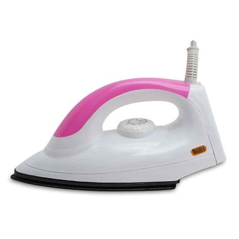 Fogger Star 1000W White & Pink Dry Iron, SBI00020