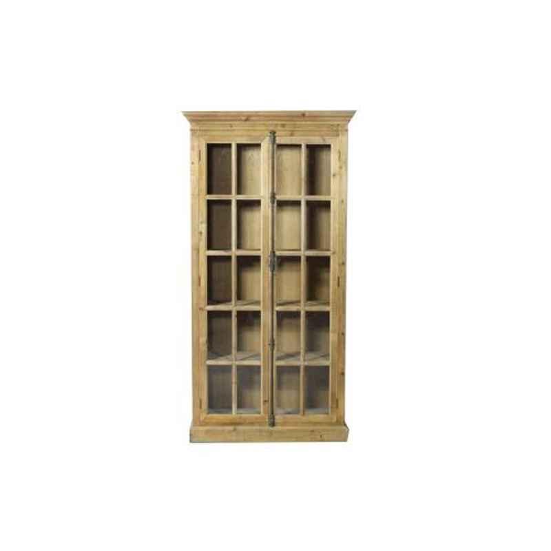 The Attic 100x40x190cm Mango Wood Natural Oregon Bookshelf, KL-1804
