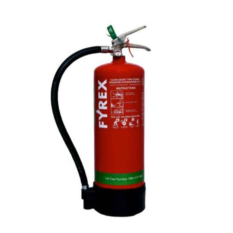 Fyrex FE36 Chemours Stored Pressure 6kg Clean Agent Fire Extinguisher, F0019