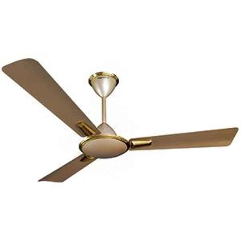 Crompton Aura Metallic Shades Husky Gold 3 blades ceiling fan