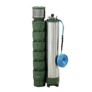Oswal 5HP 5 Stage V5 Mixed Flow Agriculture Water Filled Submersible Pump, OS-5C-1PH