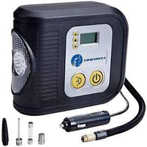 Tirewell TW-7001 12V 200psi Digital Portable Air Compressor with LED Light & 3 Different Nozzle