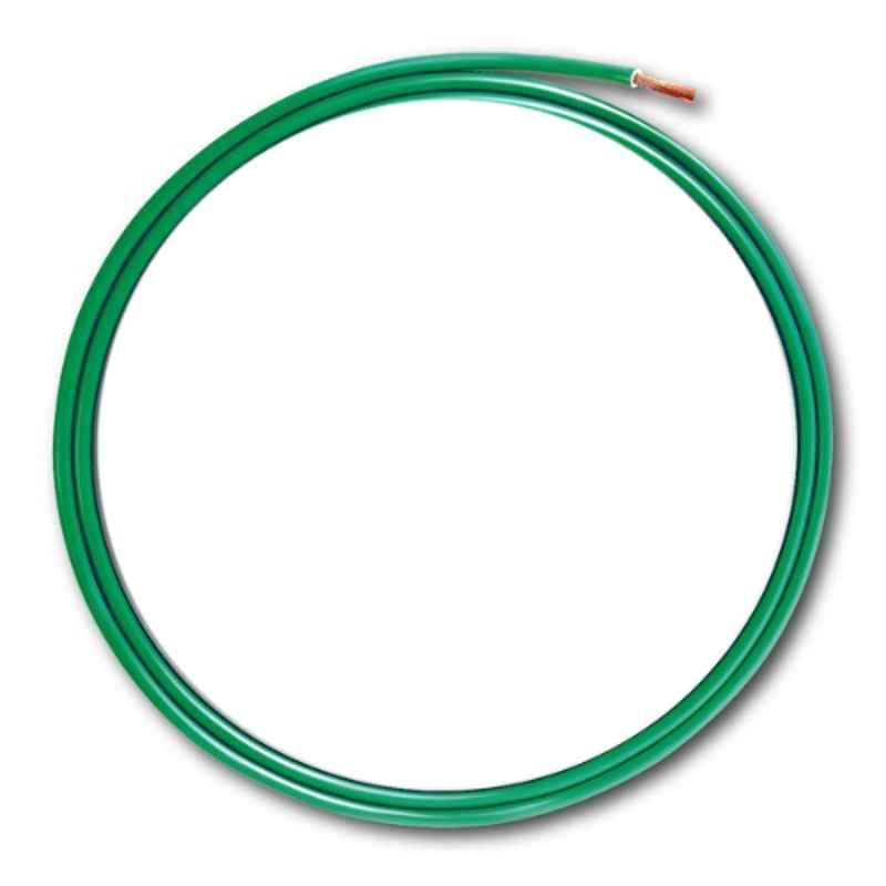 KEI 1 Sqmm Single Core Homecab FR Green Copper Unsheathed Flexible Cable, Length: 90 m