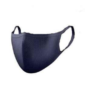 Detelpro Yoddha Cotton Navy Blue 3 Layers Reusable Face Mask (Pack of 200)