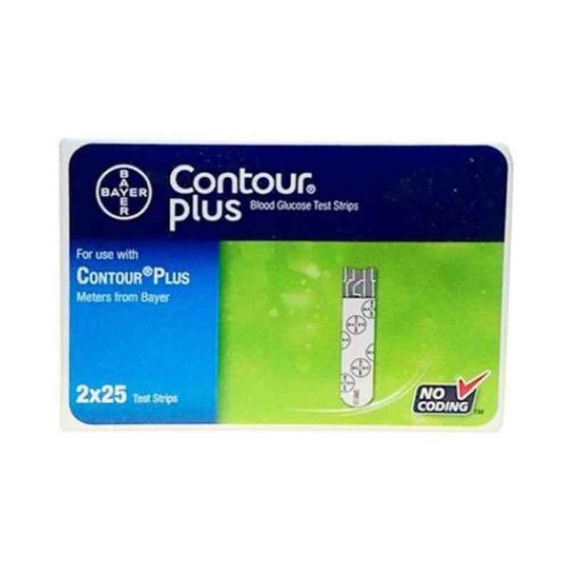 BayerContour 50 Pcs Glucometer Test Strips