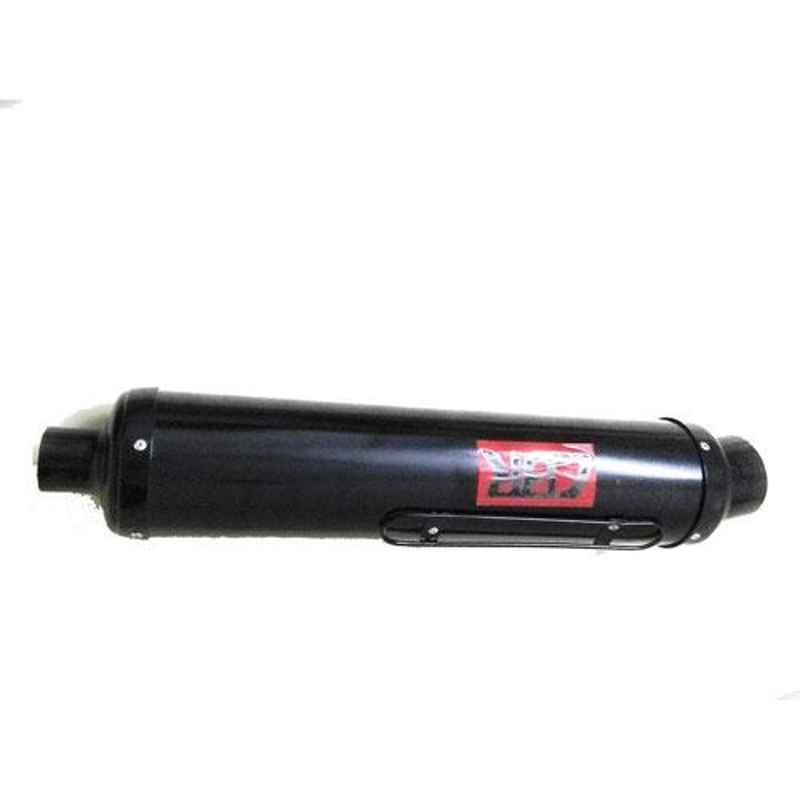 RA Accessories CBR Mild Steel Bike Exhaust for TVS Apache RTR 180