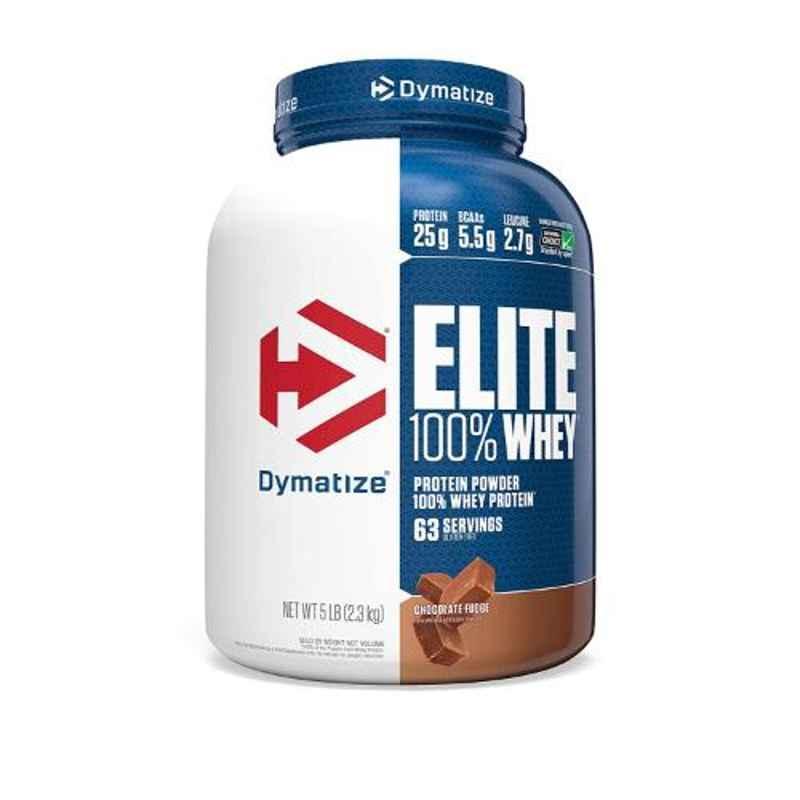 Dymatize Elite 5lbs Chocolate Fudge Whey Protein