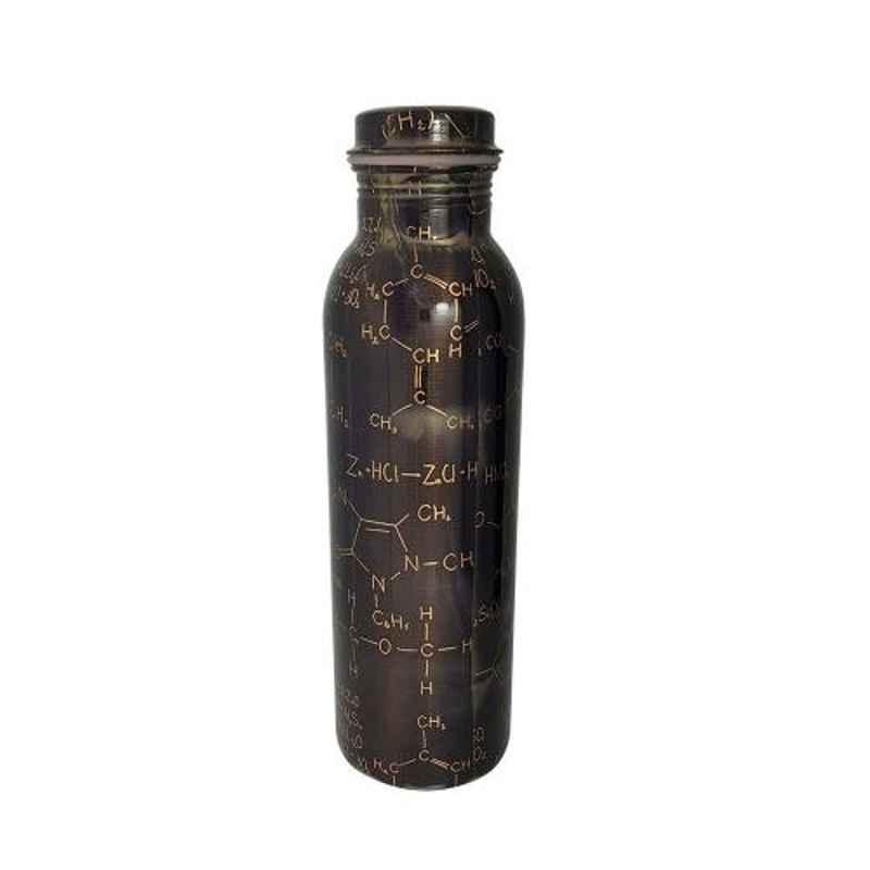Healthchoice 1000ml Copper Chemistry Design Printed Water Bottle