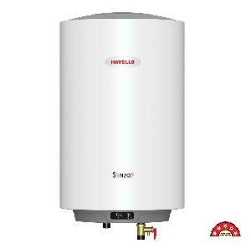 Havells Senzo 5S 15L Water Heater White GHWASESWH015