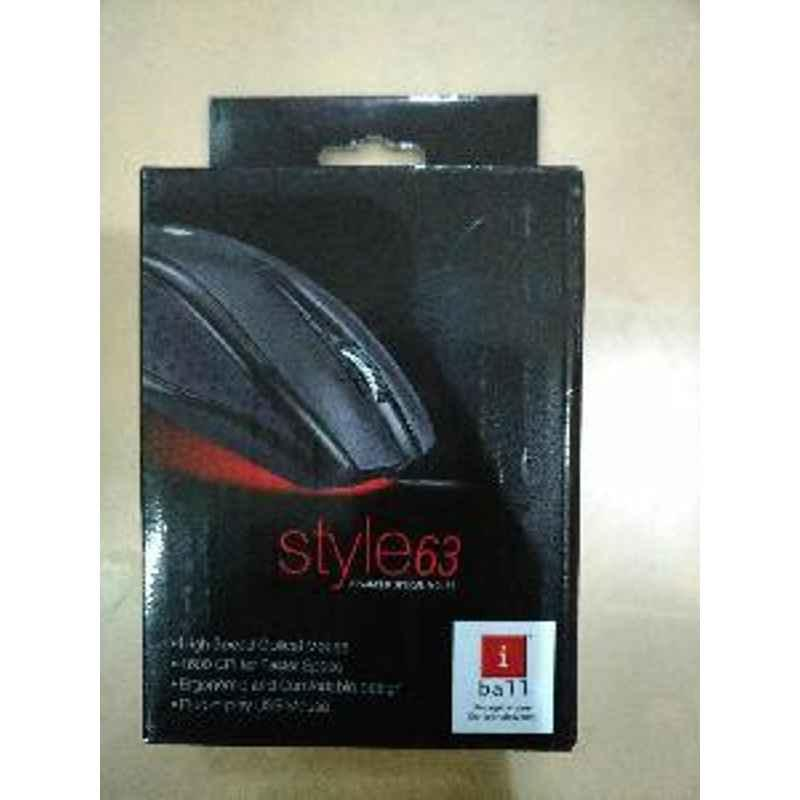 Enter IBall Style63 Advanced Optical Mouse