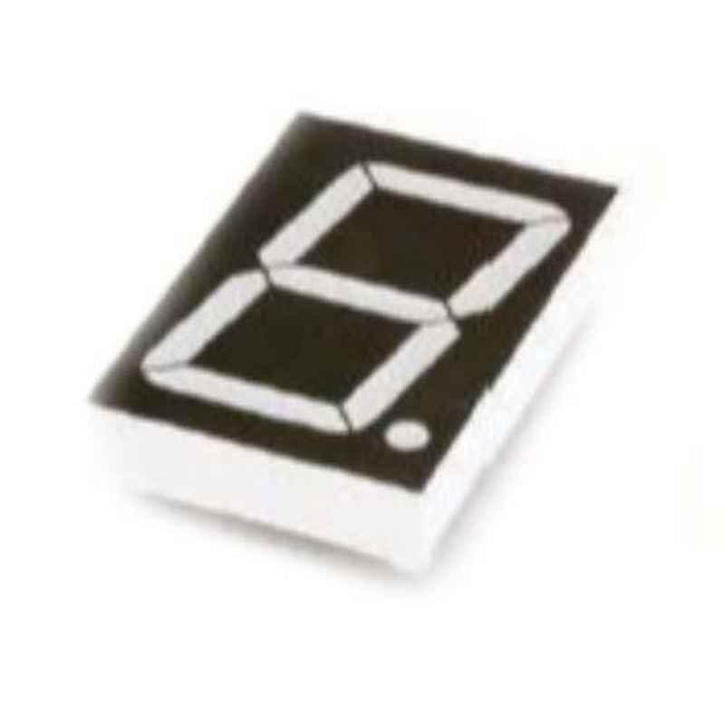Oasistek 100 Pcs 1.5 inch Ultra Yellow Single Digit Display Module Set, TOS-15102