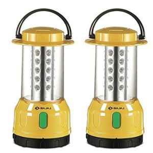 Bajaj 7W LED Glow B22 Base White LED Table Lamp, 610030