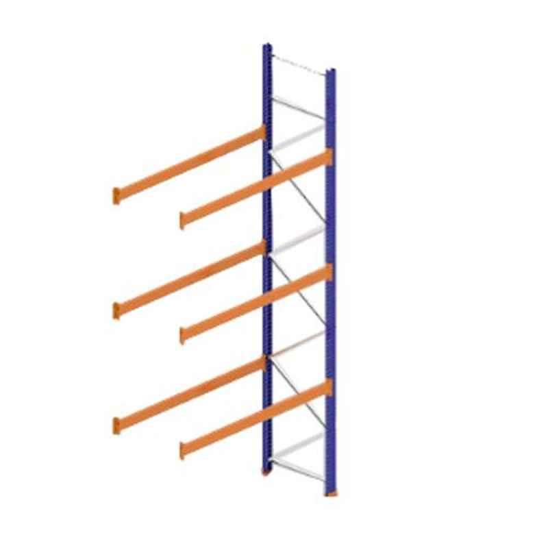 Godrej Ground Plus 3 Layers Steel Selective Pallet Racking, Max Load Capacity: 6000kg, Add on Unit: 5000x2300x800mm (HxWxD)