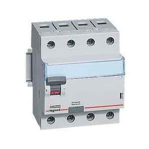 Legrand ee03894 63 A 4 Pole 100 mA Residual Current Circuit Breaker