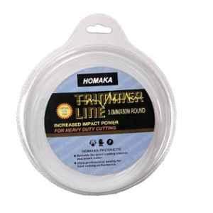 Homaka 50m 3mm White Round Trimmer Line