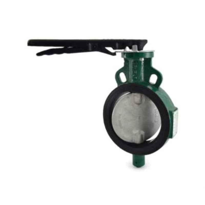 Zoloto 80mm Wafer Type PN 1.6 Butterfly Valve with Disc, 1078B