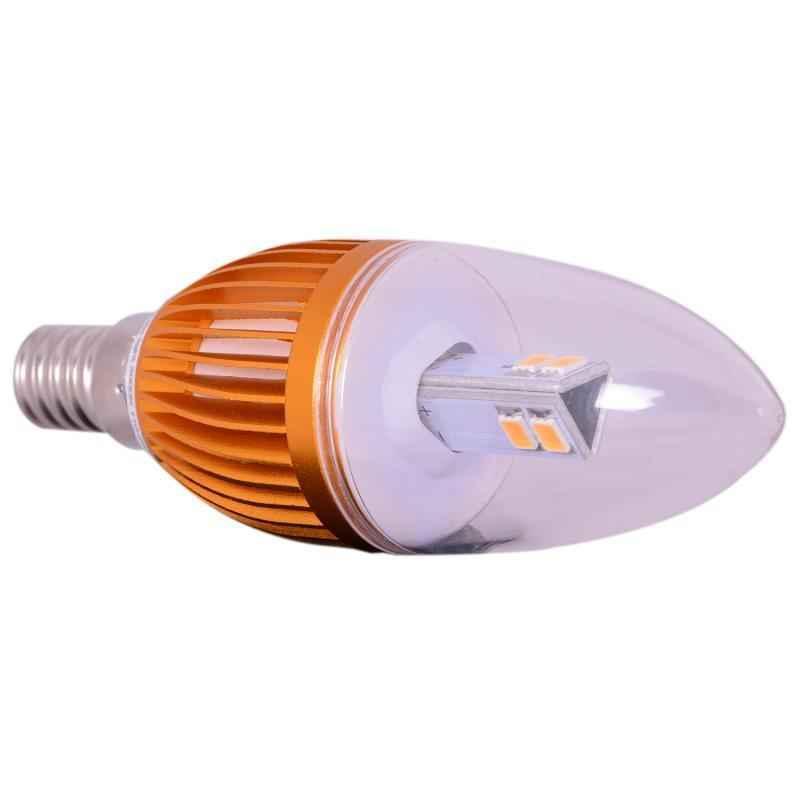 Bigapple E-14 3W Warm White LED Candle Lamp