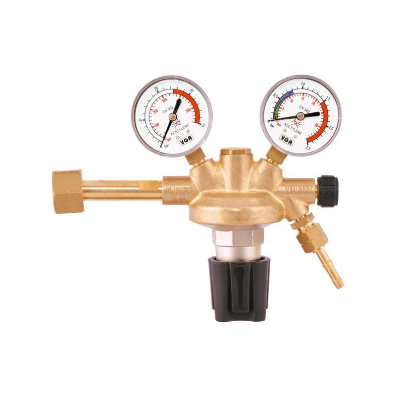 Yildiz Euro 25-1.5 bar Acetylene Pressure Regulator, 5211