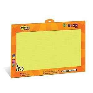 3M Post it Writing Board My Colour Wall A3 + Writing Pad