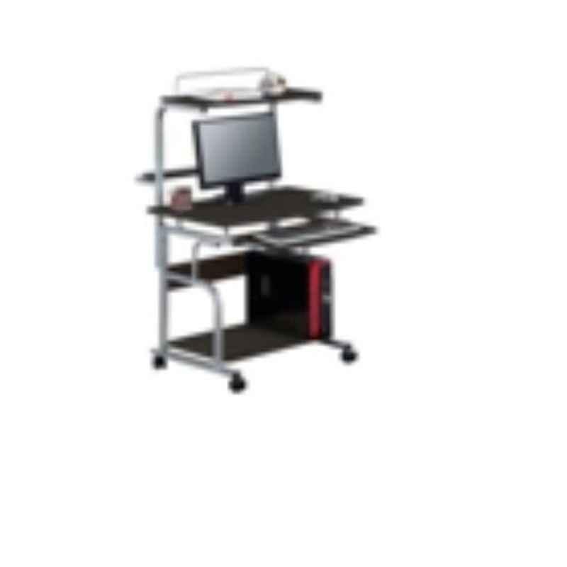 Suwas 80x45x123cm Steel & Wood Desktop Table, SU-DESKT-008