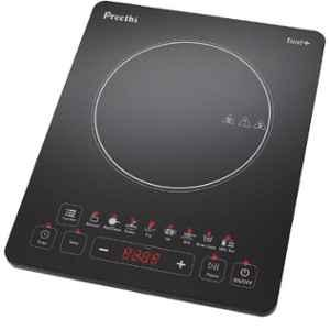 Preethi Excel Plus Black 1600W Induction Cooktop, IC117