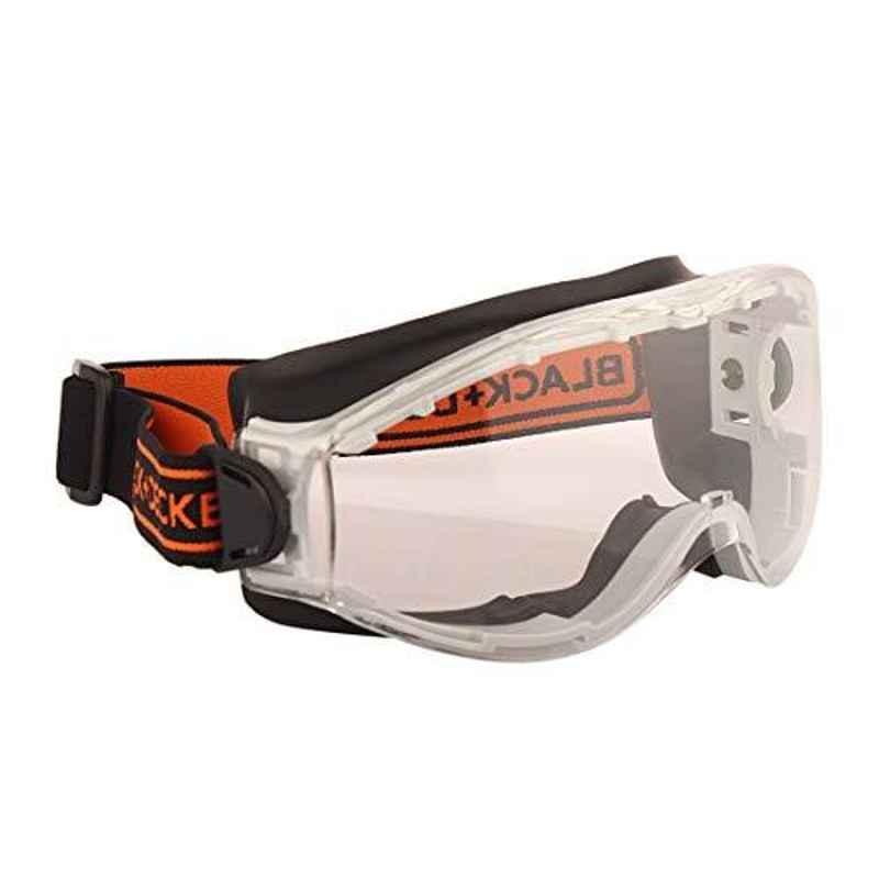 Black & Decker Chemical Splash Safety Goggle, BXPE0532IN