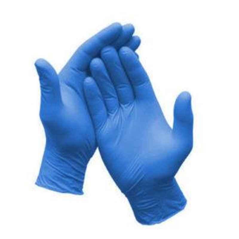 Kimtech Science 50 Pcs 16 inch Medium Ultra Blue Nitrile Gloves Box, 47977 (Pack of 10)