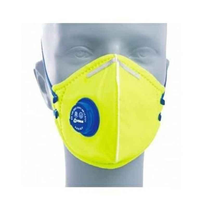 Venus Yellow Respiratory Mask, V-410 V (Pack of 20)