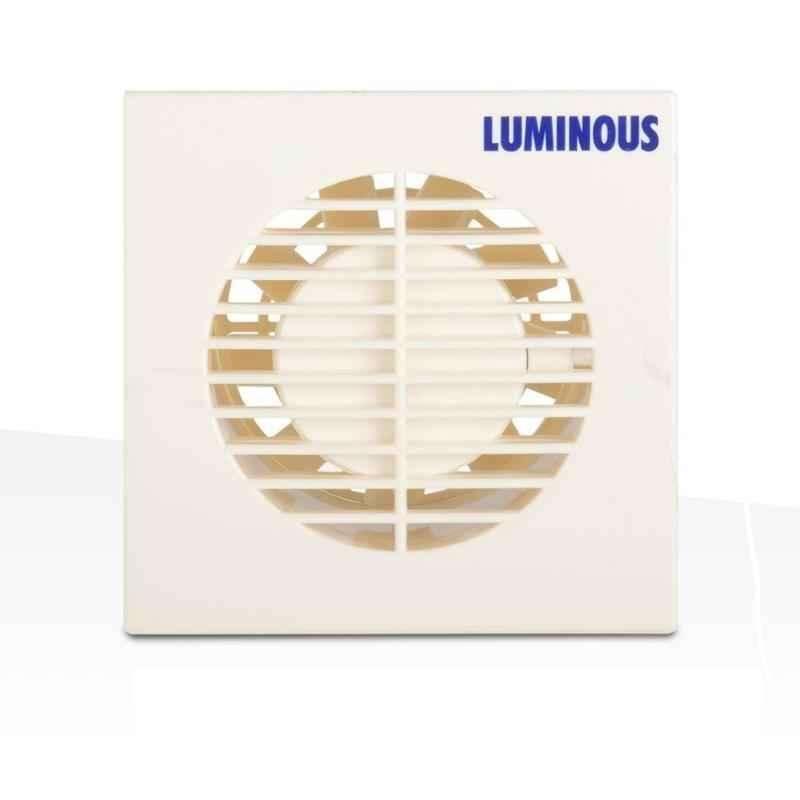 Luminous Vento Axial 100mm White Ventilation Fan