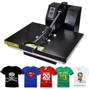 Semi-Automatic Heat Press Machine, Printing Speed: 60 Sec.