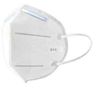 Cleanpro N95 5 Layers Melt Blown & Nonwoven White Face Mask (Pack of 75)